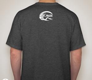 Praxis T-shirt — Dark Heather