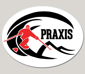 Praxis Sticker